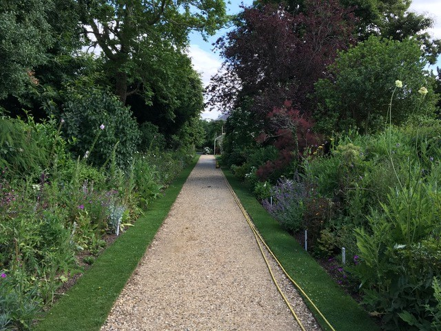 Herbaceous Borders at Down House