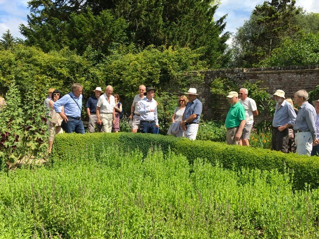 Jonathon O'Rourke explains the history of the Walled Garden at Down House
