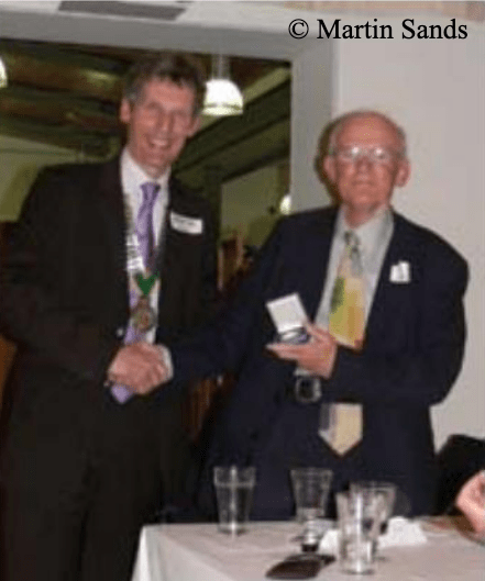 Winner of the 2010 Kew Guild Medal, Alan Barber