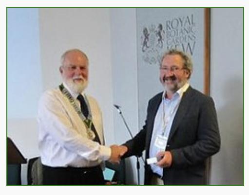 Winner of the 2012 Kew Guild Medal, Noel McGough