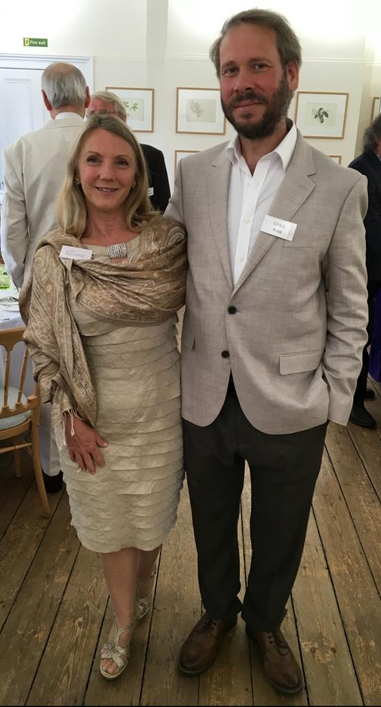 President Chris Kidd and his Partner, Liz Walker, at the Kew Guild Annual Dinner 2020.